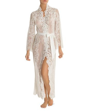 Jonquil - Long Lace Robe
