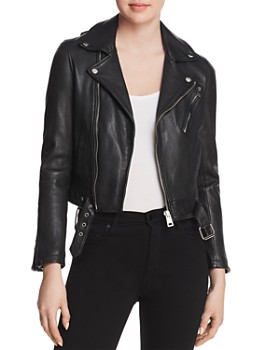 Maje - Bostep Leather Jacket - 100% Exclusive