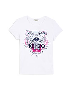 Kenzo - Girls' Tiger Tee - Baby