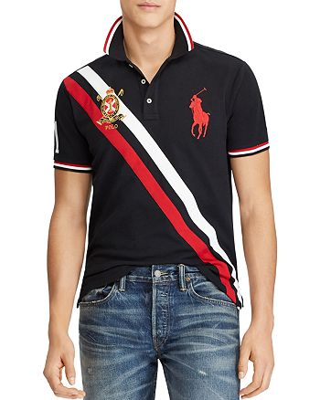 9239492011f Polo Ralph Lauren - Custom Slim Fit Mesh Polo Shirt
