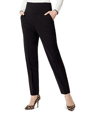 KAREN MILLEN - High-Waist Tapered Pants