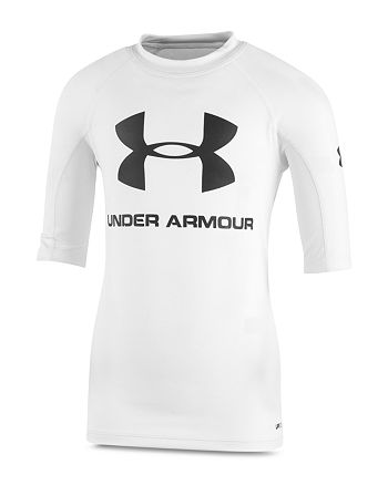 Under Armour - Boys' Short-Sleeve Compression Rash Guard Shirt - Little Kid