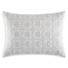 """Vera Wang Origami Pleat Stitch Decorative Pillow, 12"""" x 16"""" - 100% Exclusive - Bloomingdale's_0"""