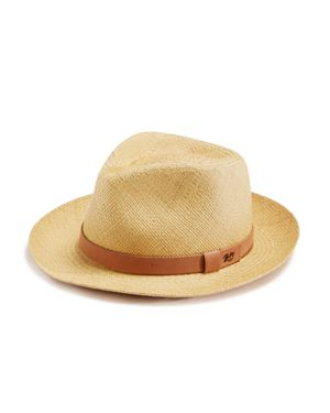 BAILEY OF HOLLYWOOD Bailey Of Hollywood Gelhorn Straw Hat With Leather Band in Natural