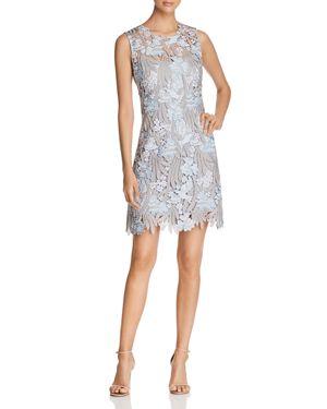 Elie Tahari Tallulah Embroidered Lace Dress