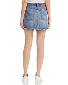 Levi's - Deconstructed Denim Mini Skirt in Hole in One