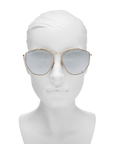 Dior - Women's Stellaire Mirrored Geometric Sunglasses, 59mm