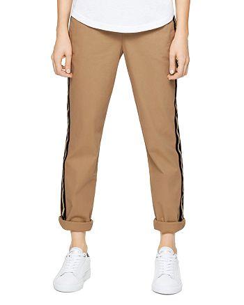Zadig & Voltaire - Pomelo Side-Stripe Pants