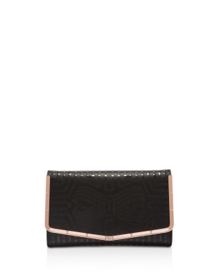 $Ted Baker Bree Cut Out Bow Clutch - Bloomingdale's