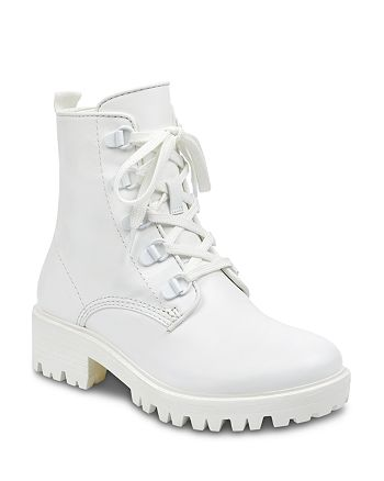 Kendall + Kylie - Women's Epic Leather Combat Booties