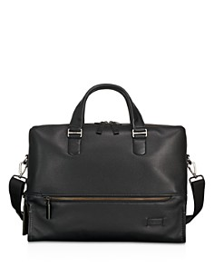 Tumi - Harrison Leather Horton Double Zip Briefcase