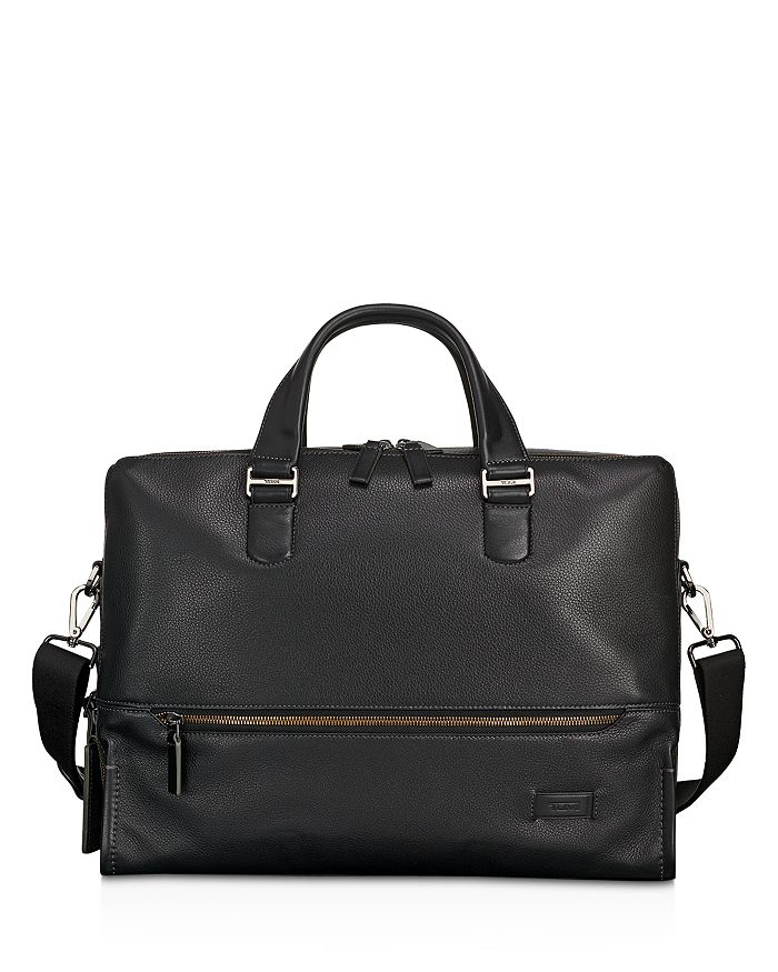 Tumi - Harrison Leather Horton Double Zip Briefcase