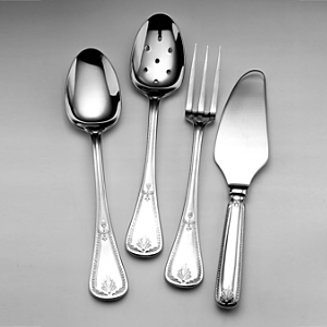 Couzon Consul Silverplated 4 Piece Hostess Set
