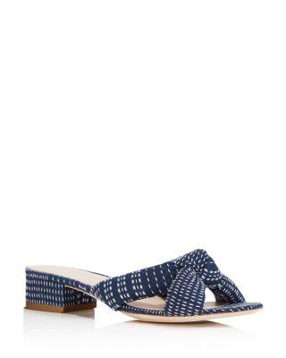 Elsie Block Heel Slide Sandals