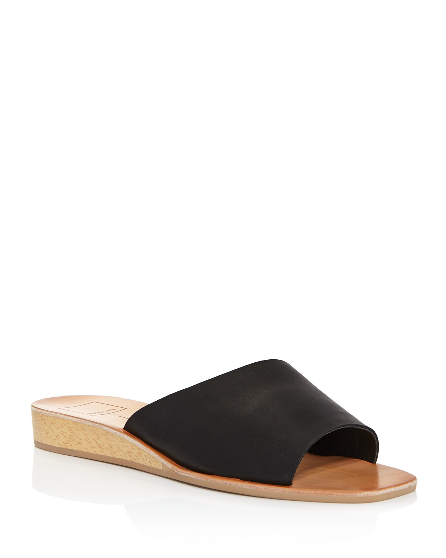 Dolce Vita Women's Hildy Leather Slide Sandals - 100% Exclusive U0btf