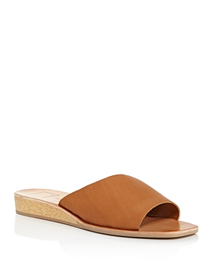Dolce Vita  WOMEN'S HILDY LEATHER SLIDE SANDALS - 100% EXCLUSIVE
