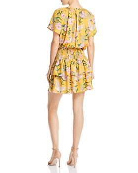 Beltaine - Printed Blouson Dress - 100% Exclusive