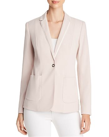 T Tahari - Reisling Ribbon-Trim Jacket