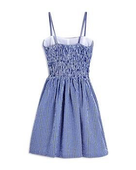 AQUA - Girls' Seersucker Dress, Big Kid - 100% Exclusive