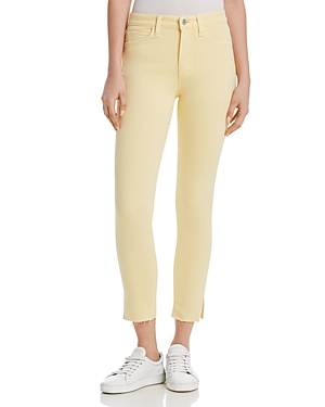 Joe's Jeans  THE CHARLIE ANKLE JEANS IN PALE YELLOW - 100% EXCLUSIVE