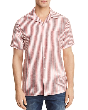 Onia Vacation Regular Fit Button-Down Shirt