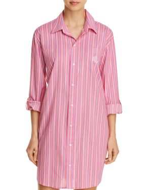 LAUREN RALPH LAUREN HIS SHIRT SLEEPSHIRT