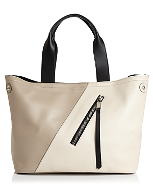 Elena Ghisellini Orion Medium Abstract Leather Tote