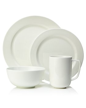 Hudson Park Collection - Hudson Park Rim 16 Piece Dinnerware Set - 100% Exclusive