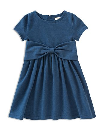 kate spade new york - Girls' Kammy Bow Dress - Little Kid