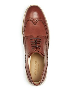 Cole Haan - Men's Original Grand Leather Wingtip Oxfords