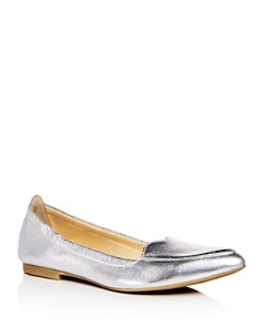 Isa Tapia - Women's Nova Leather Pointed Toe Flats