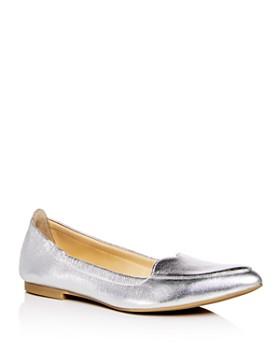 Isa Tapia - Women's Nova Leather Pointed Toe Flats