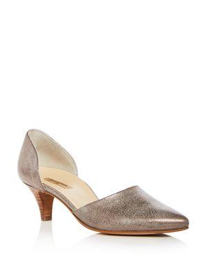 Paul Green Women's Julia Leather D'Orsay Kitten Heel Pumps 2831529