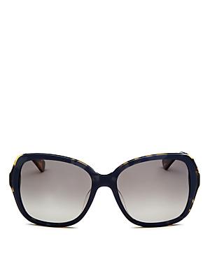 kate spade new york Women's Karalyn Polarized Square Sunglasses, 56mm