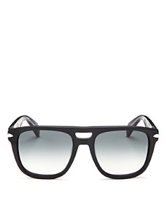 rag & bone - Men's Iconic Brow Bar Square Sunglasses, 56mm