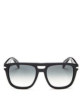 rag & bone - Men's Iconic Brow Bar Square Sunglasses, 56mm