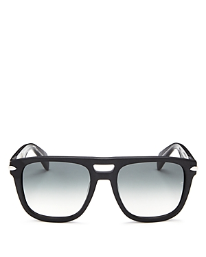 rag & bone Men\\\'s Iconic Brow Bar Square Sunglasses, 56mm