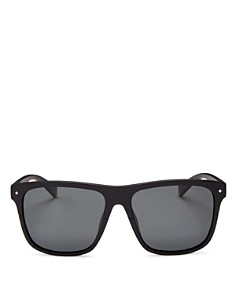 Polaroid - Men's Flat Top Square Sunglasses, 58mm - 100% Exclusive