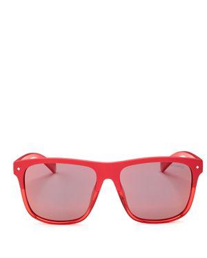 Polaroid x Nintendo Men's Flat Top Square Sunglasses, 58mm - 100% Exclusive
