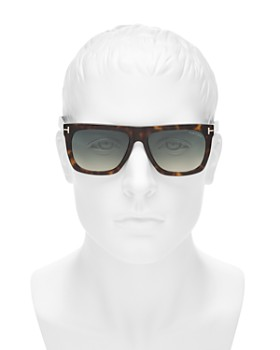 Tom Ford - Men's Morgan Flat Top Square Sunglasses, 55mm