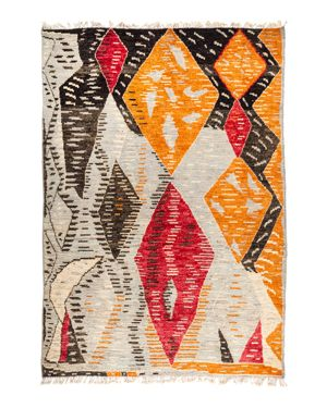Solo Rugs Tribal Area Rug, 6'3 x 9'1