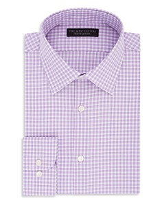 The Men's Store at Bloomingdale's Gingham Regular Fit Dress Shirt_0