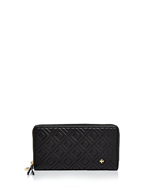 93c30def36653 13. Tory Burch - Fleming Zip Continental Leather Wallet.