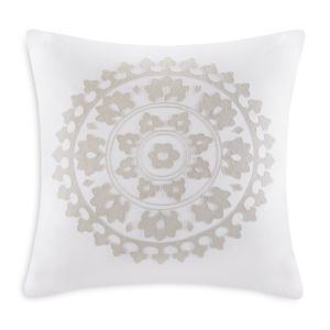 Echo Marco Embroidered Decorative Pillow, 18 x 18