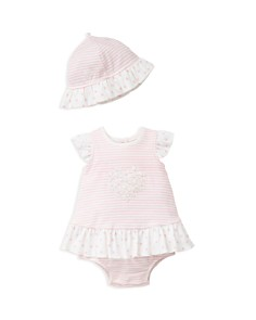 Little Me Girls' Striped Daisy Popover & Hat Set - Baby - Bloomingdale's_0