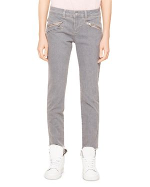 Zadig & Voltaire Ava Skinny Jeans in Gray - 100% Exclusive 2887178