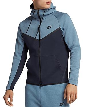 Nike  TECH COLOR-BLOCKED ZIP HOODIE