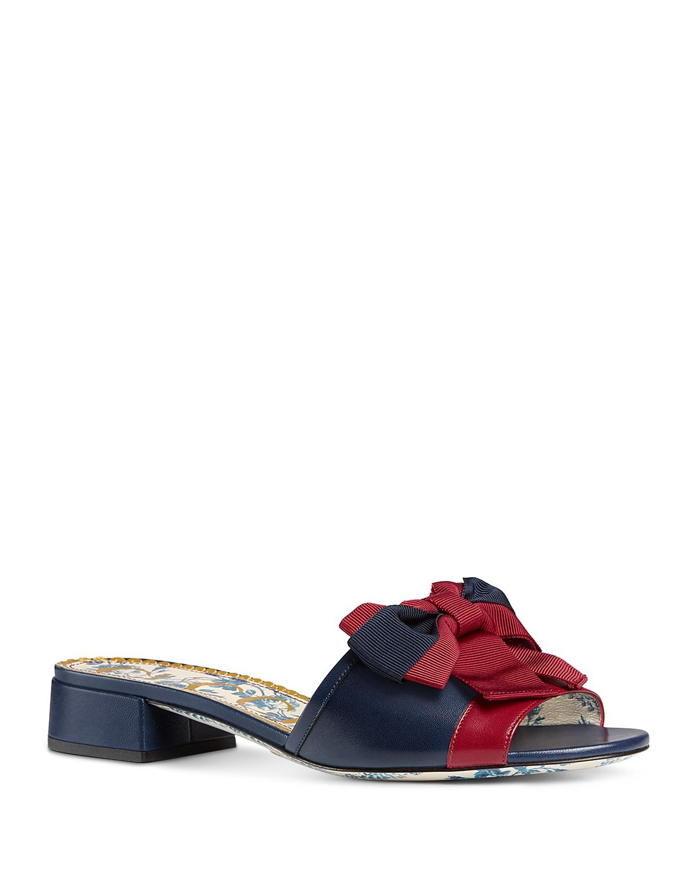 Gucci Women's Sackville Bow Sandal j2SJ3gqHC