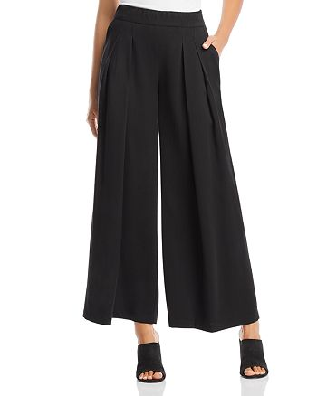 Eileen Fisher - Pleated Wide-Leg Pants
