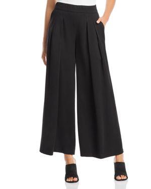 Eileen Fisher Pleated Wide-Leg Pants